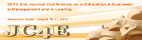 Image of 2nd Journal Conference on e-Education, e-Business, e-Management and e-Learning (JC4E 2013)